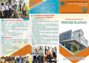 Program Studi Perkeretaapian-STTD